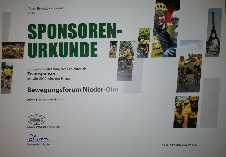 Spende an die deutsche Kinderkrebshilfe……