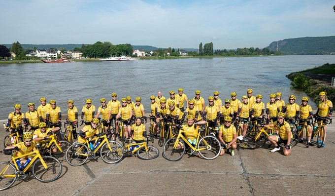 Spinning-Special zugunsten Team Rynkeby - geschafft!