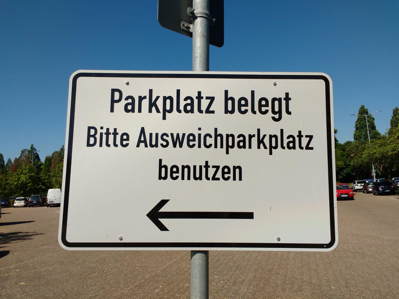 Ausweichparkplatz
