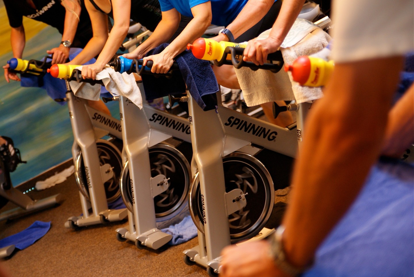 Spinning & Rowing-Intro Push'n'Pull